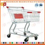 Gute Qualitätslichtbogen-Form-Speicher-Karren-Einkaufen-Laufkatze (Zht128)