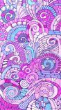 Écharpe en soie d'impression fait sur commande coloré pour des femmes