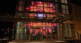 setaccio a maglie molle della facciata LED di media di alta luminosità di pH37.5mm/56.25mm/75mm
