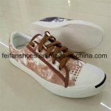 Zapatos de lona ocasionales de los zapatos de lona de la inyección de los hombres (FFZL1102-02)