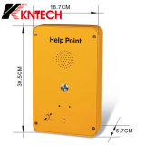 Selbstvorwahlknopf-Telefon-Hilfen-Punkt des SIP-Telefon-Emergency Tasten-Telefon-Knzd-39