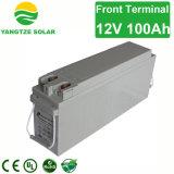 bateria profunda acidificada ao chumbo selada 100ah do UPS do ciclo 12V