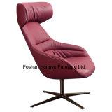 Cadeira de couro da sala de visitas moderna da mobília do lazer (KR14)