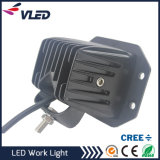 Auto off Road 18W Flush Mount LED 12V 24V DC Mini 24W luz de trabalho LED para Truck Car Boat Bar 4X4