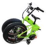 [20ينش] جبل كهربائيّة سمين يطوي درّاجة لأنّ عمليّة بيع