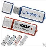Stick USB Flash Luce Nuova di cristallo LED con marchio del laser (759)