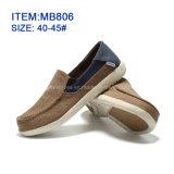 O Slip-on Shoescanvas ocasional dos homens calç personalizado por atacado (MB806)
