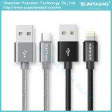 1m/2m/3m Snelle het Laden Kabel USB voor de Androïde Telefoons van Samsung/iPhone 6 7