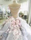Fiori che Wedding i vestiti nuziali blu Z3033 da Quinceanera degli abiti di sfera
