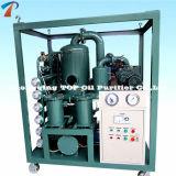 Purificador de petróleo del transformador del alto vacío del acero inoxidable (ZYD-50)