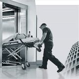 참을성 있는 의자 침대 휠체어 전송자 의학 병원 상승