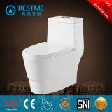 Toilette occidentale avec la couverture de portée de desserrage rapide (BC-2008)