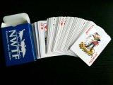 Карточки голубой бумаги Nwft играя/карточки покера играя с 4 по-разному цветами