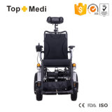 Topmedi gama alta respaldo reclinable eléctrico Movilidad de Ruedas Eléctrica
