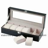 Коробка вахты оптовой коробки ювелирных изделий способа Handmade подгонянная