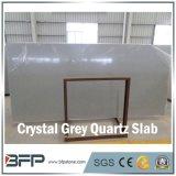Kristallquarz-grauer Schein-künstliche Quarz-Platte für Countertop