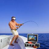 "7 "" TFT LCD HD 600TVは水中魚のカメラの魚のファインダーを並べる"