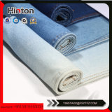 10oz Cotton78% Polyester10% Viscose10% Spandex2% 길쌈된 Tr 데님 직물