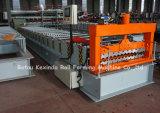 機械を形作る波形の金属のプロフィールの屋根ふきロール