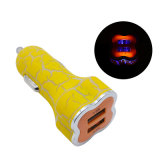 3.1A Rapid Dual Port USB Car Charger para Android Samsung