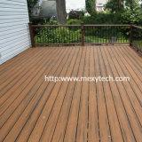 2017 suelo al aire libre modificado para requisitos particulares nuevo diseño de madera sólida WPC para la venta