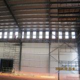 Almacén estructural de acero prefabricado de la protección contra la corrosión con Niza calidad