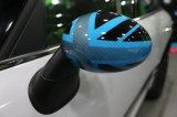 De gloednieuwe ABS Plastic UV Beschermde Kleur van Union Jack van de Sportieve Stijl Blauwe met Dekking de Van uitstekende kwaliteit van de Spiegel van de Koolstof voor Mini Cooper R56-R61