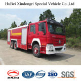 16ton HOWOの泡の消火活動型トラックのユーロ4