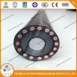 Кабель силового кабеля 25kv Cu/Al/XLPE/Cws/PVC Mv подземный
