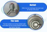 Esterilizador portable del vapor de la presión del acero inoxidable