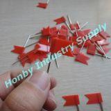 Pin флага маркировки карты красного цвета 32mm пластичный головной