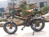 قوة قوّيّة سمين إطار العجلة [ليثيوم بتّري] يطوي ثلج درّاجة كهربائيّة