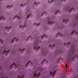 tessuto polare del panno morbido lavorato a maglia 100%Polyester per la tessile calda del cappotto