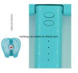 Ventilador Desktop 2 do mini ventilador portátil da mão nos ventiladores 1 pessoais elétricos