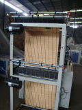 Kalter Ausschnitt-T-Shirt/flacher Beutel, der Maschine mit zwei Zeilen herstellt