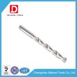 Asta recta de la flauta del espiral del taladro de carburo de tungsteno cubierta