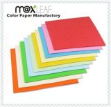 cartulina del papel de copia del color 110GSM con A4 y talla de la carta