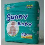 Couche-culotte ensoleillée molle respirable et sèche de taille différente de constructeur de la Chine de bébé