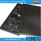 Einfache Installation farbenreiche HD P4 LED-Bildschirmanzeige-Innenbaugruppe
