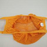 Sacos Washable feitos sob encomenda da colheita da fruta do engranzamento do algodão com Dentro-Bolso