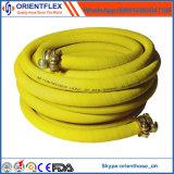 Boyau en caoutchouc de compresseur d'air de pression flexible