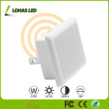 Sensor de luz LED Night Light con luz Walll Plug