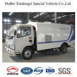 euro 4 del camion di aspirazione della polvere della strada di 5cbm Dongfeng