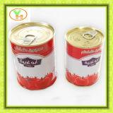 Sauce tomate en boîte par 28-30%Brix chaude de vente pour le marché de l'Afrique