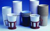 Jogo de chá, copos de café 4-22oz de papel