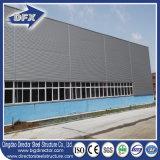Edifício pré-fabricado do armazém da construção de aço do frame do metal do ISO