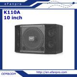 10 sistema di altoparlante professionale di karaoke del Twitter di pollice 5 audio (K110A - TATTO)
