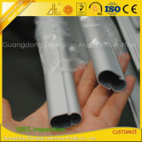 6061 6063 Oval Extrusión de Aluminio Tubo para Armarios