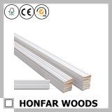 5-dans le moulage de bordage de Baseboard en bois de pin blanc