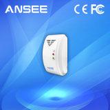 ホームセキュリティーのためのアラーム連結が付いている無線ガス探知器